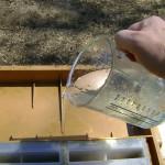 p 75 la mesure du sirop donné et la date du nourrissement seront notés sur la fiche de la colonie