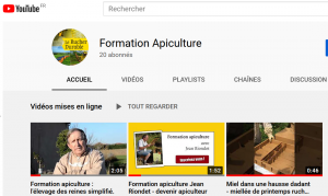formation Apiculture - YouTube
